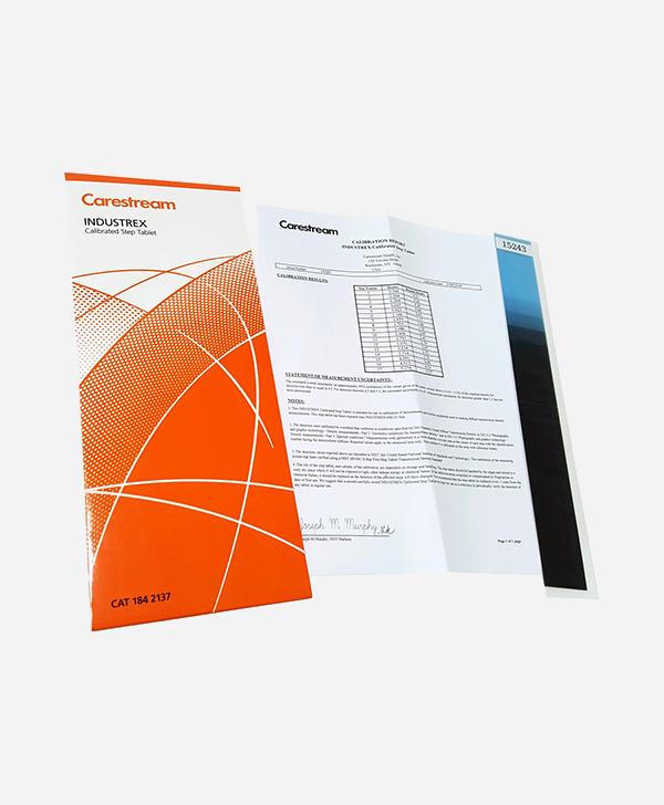 Radyografi Testi Ürünleri, , Step Tablet